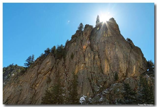 Boulder Canyon Narrows Pinnacle Art