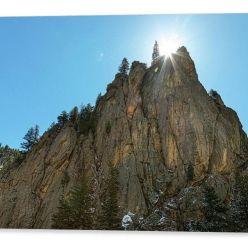 Boulder Canyon Narrows Pinnacle Acrylic Print