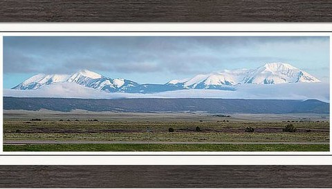 12 The Highway Of Legends Framed Print