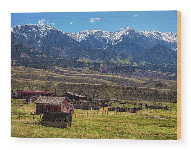 Old Western Landscape