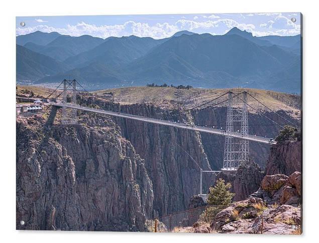 Royal Gorge Bridge Colorado Acrylic Print