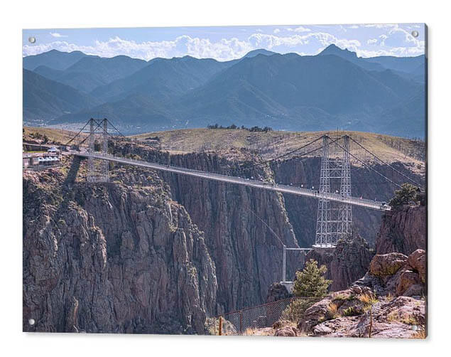 Royal Gorge Bridge Colorado Acrylic Prints