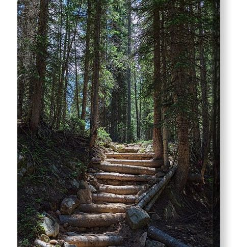 Another Stairway To Heaven Canvas Print