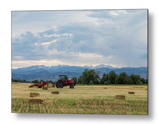 Colorado Country Metal Print