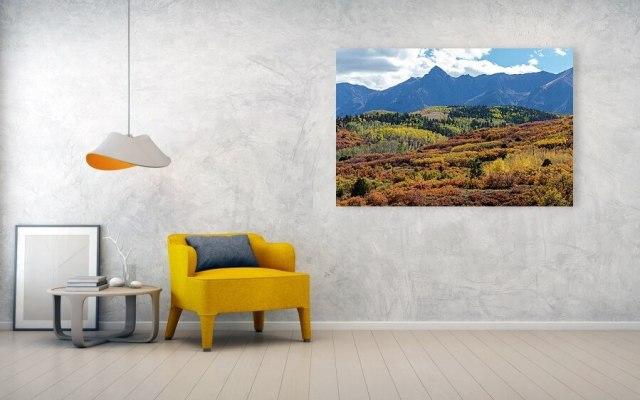 Colorado Nature Art Landscapes Autumn Color Bonanza