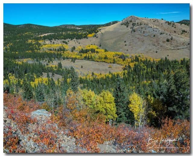 Autumn Hills Of Boulder County Colorado Art Print