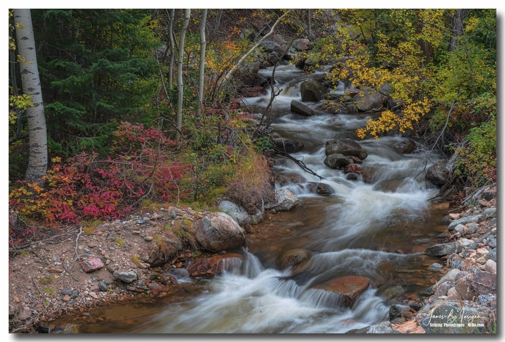 Colorado Color Streaming New Art Prints
