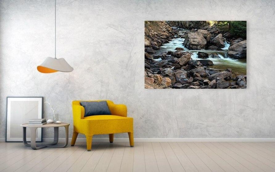 Cache La Poudre River Flow Acrylic Print