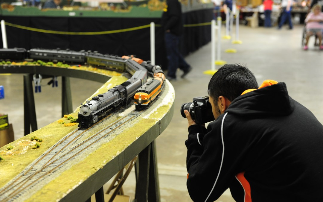 Sherman Hill Model Railroad Show highlights including Big Boy 4014!