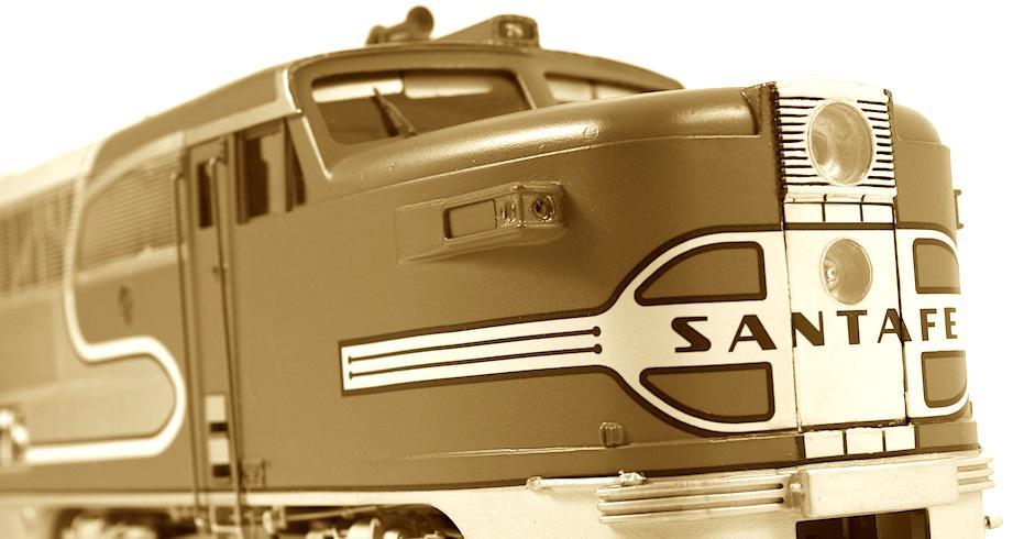 Review in Photos Key Model Import's AT&SF Santa Fe PA's