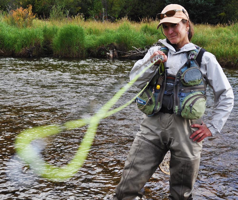 Fishing guide Iolanthe Culjak