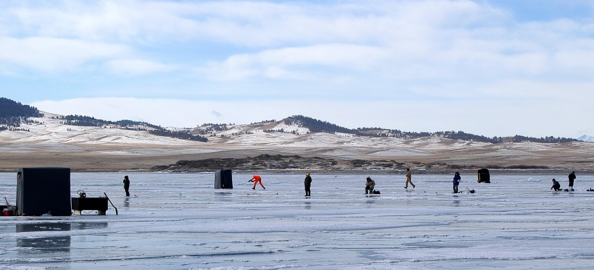 Ice fishing getting started colorado outdoors online for Colorado fishing atlas
