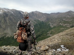 Hhiking the ridgeline
