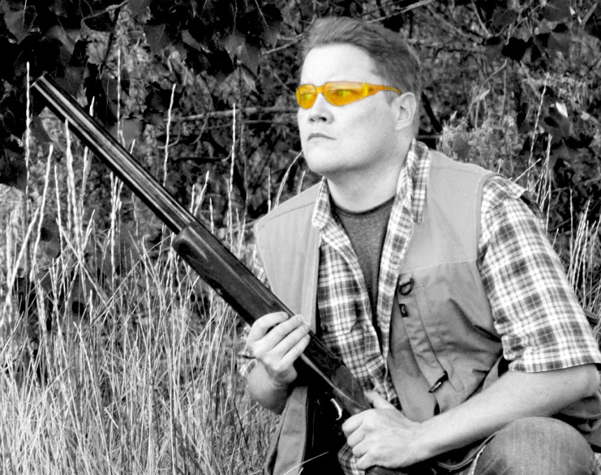 Shooting glasses can improve performance in the field. Photo by Jerry Neal (CPW)