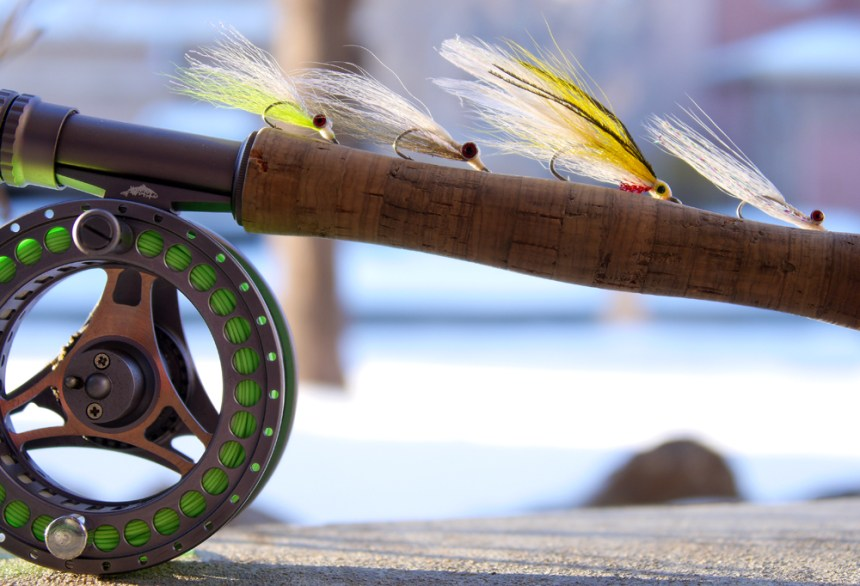 Clouser minnows and bucktail streamers are excellent wiper flies.