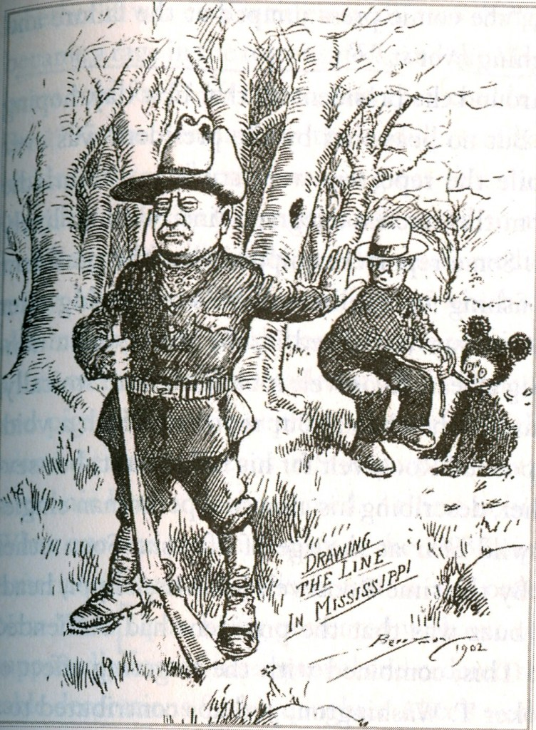 """This cartoon that appeared in The Washington Post led to the creation of the first """"Teddy Bear"""" stuffed toy."""