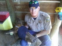 District Wildlife Manager Brian Marsh.