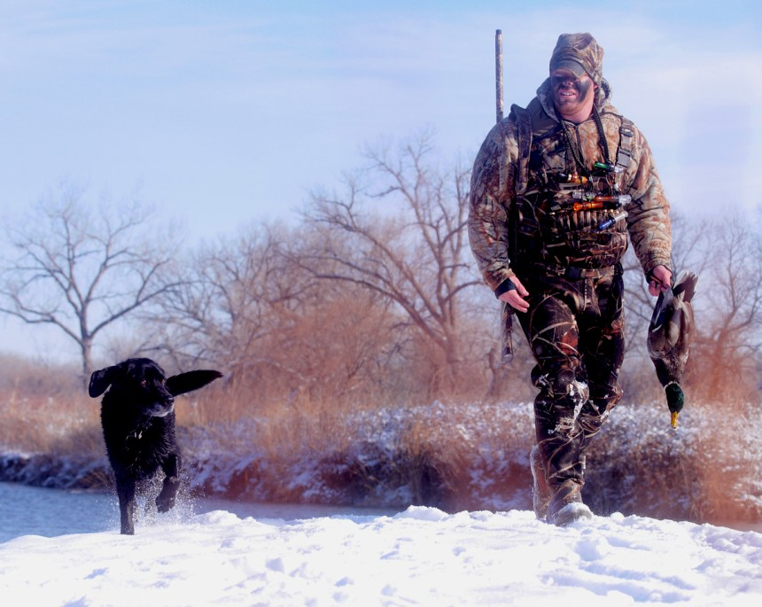 Chest waders and a waterproof parka are must-have items for any duck hunter.