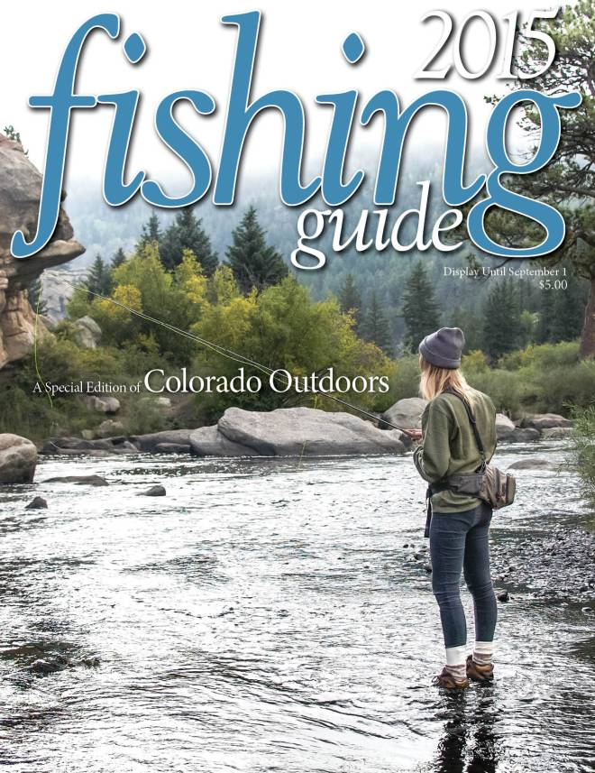 2015 Fishing Guide cover
