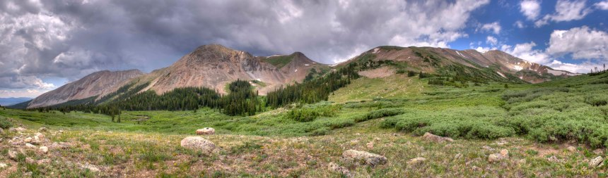 Potentially unexpected weather brewing above French Pass. Photo by Dennis Mckinney/CPW