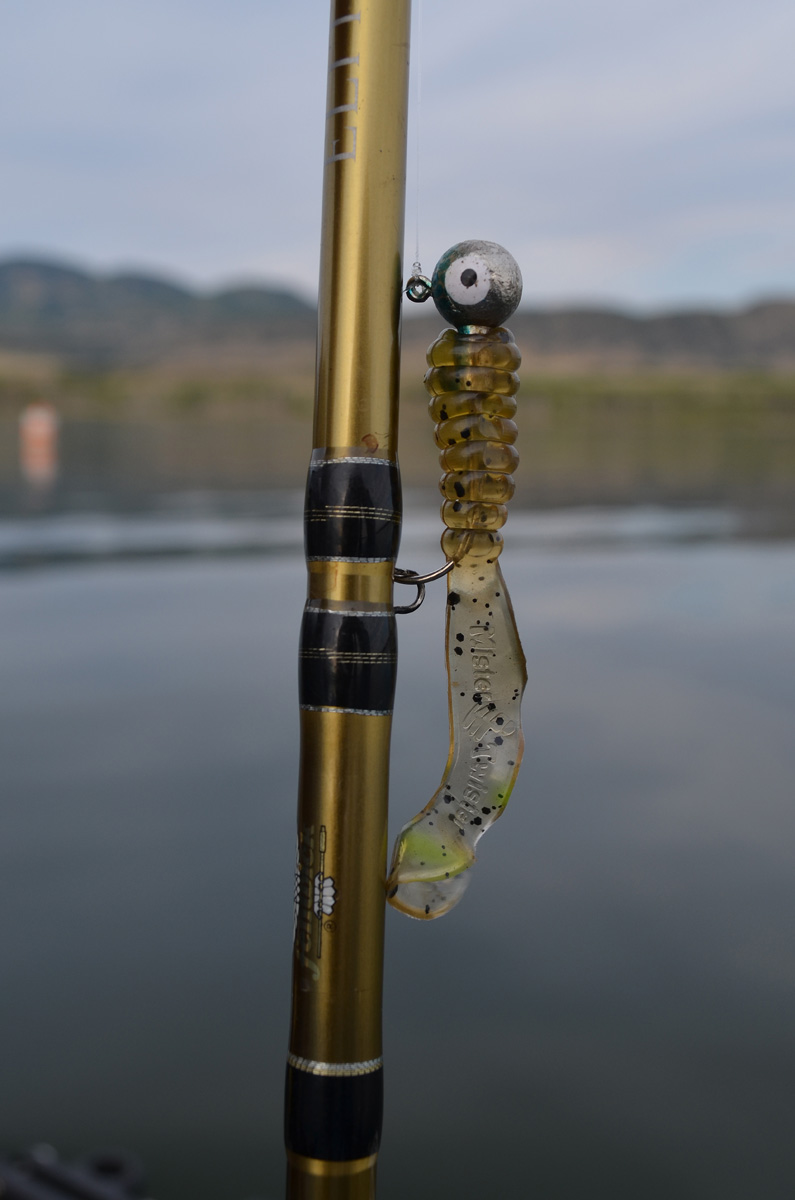 Mister Twister Curly Tail Grub with 1/4-ounce Jig Head