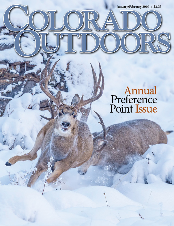 Colorado Outdoors Preference Point Issue