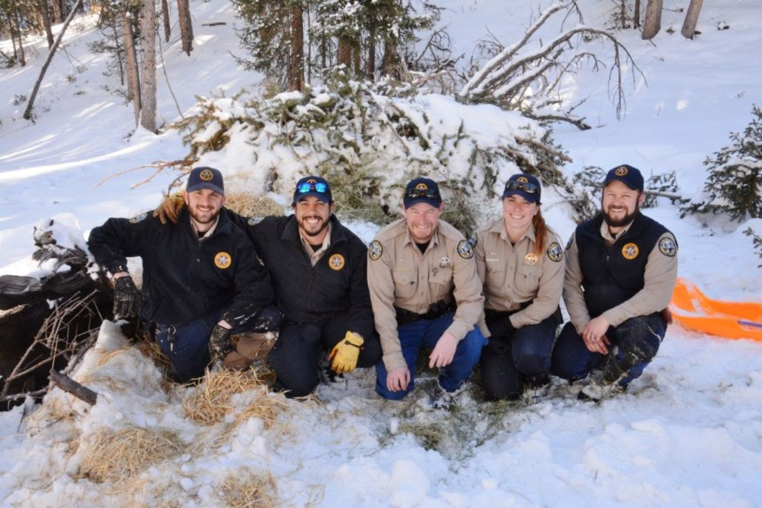 Colorado Parks and Wildlife officers