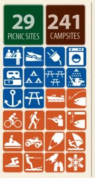 Jackson lake icons