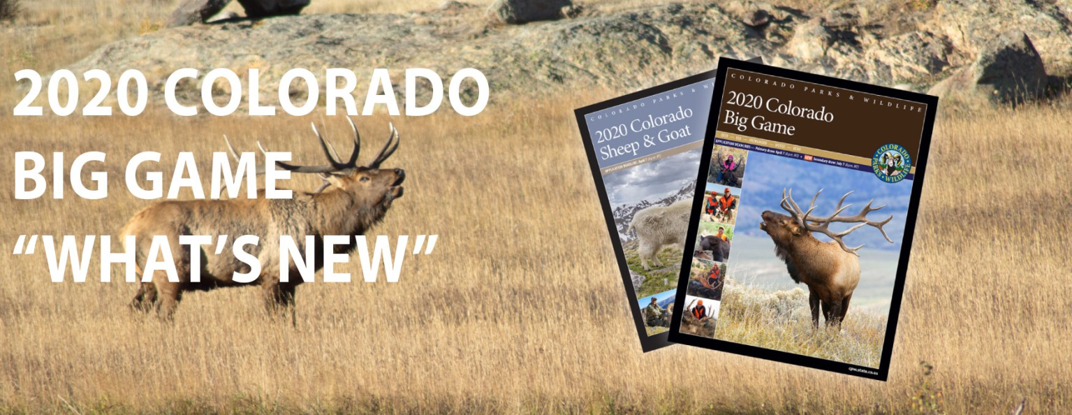 Elk and Big Game Brochures