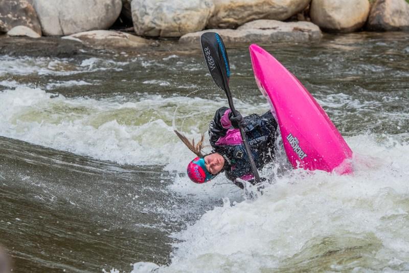 Kayaking at AHRA