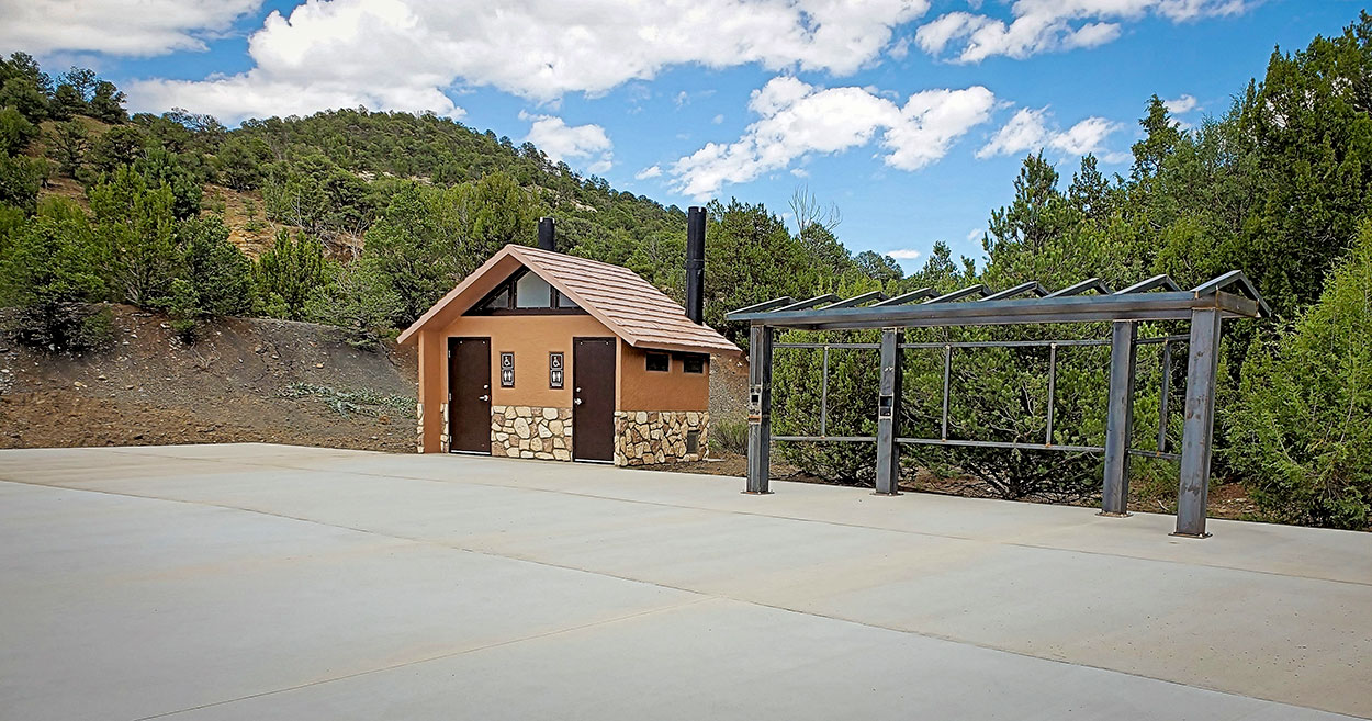 Fishers Peak facilities