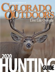 2020 Hunting Guide cover