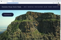 Fishers Peak State Park Website