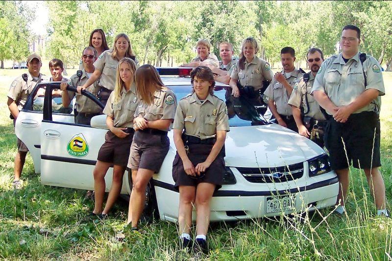 Crystal Dreiling in 2003 when she was a seasonal park ranger