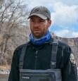 Colorado Parks and Wildlife Aquatic Biologist Kyle Battige