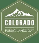 Colorado Public Lands Day logo courtesy of Colorado Public Lands website