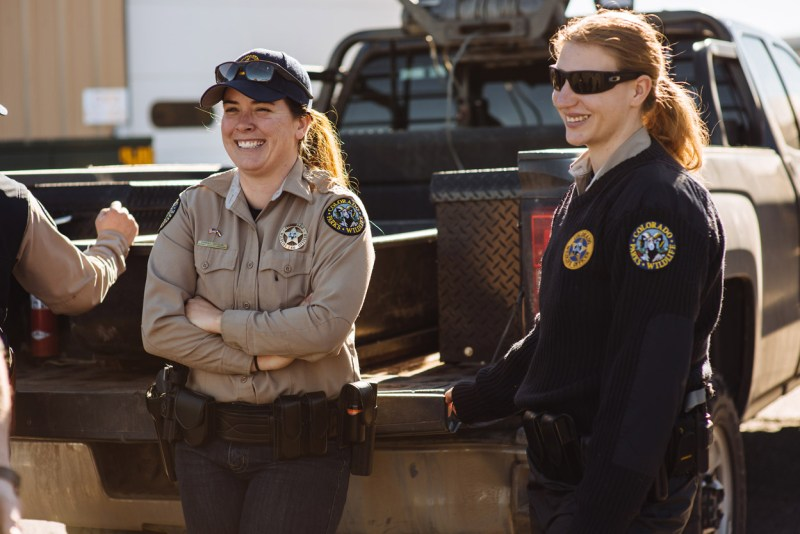 Wildlife officers