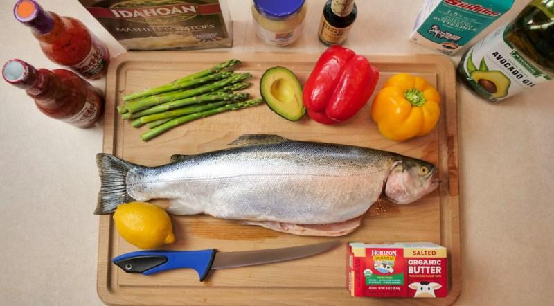 Trout Ingredients