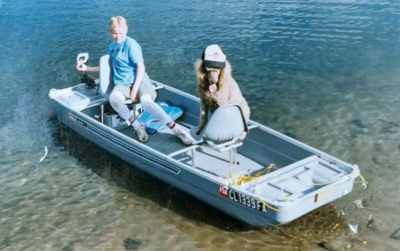 Coleman Crawdad boat