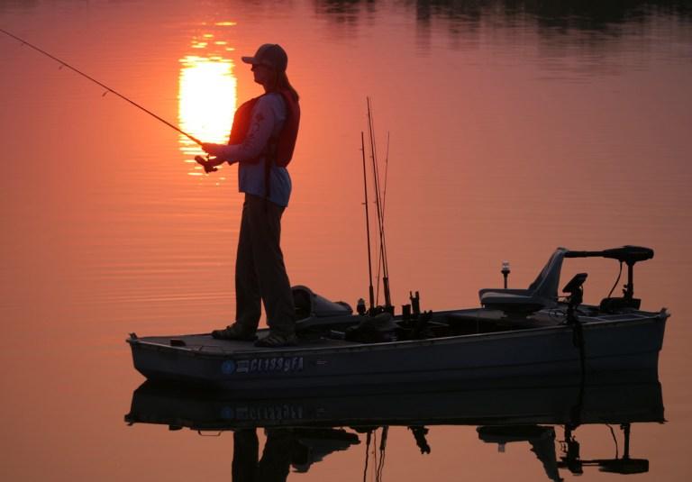 Fishing from a Crawdad boat