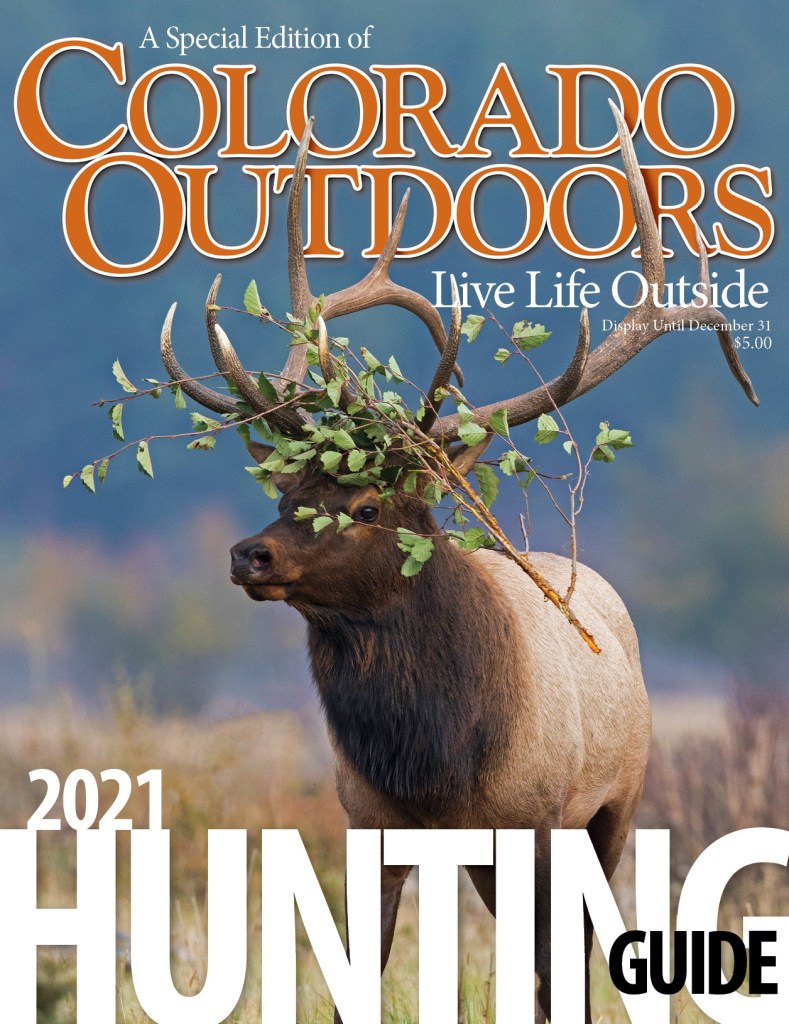 2021 Annual Hunting Guide Cover