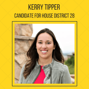 Kerry Tipper. Colorado People's Action Endorsement Election 2018 HD 28