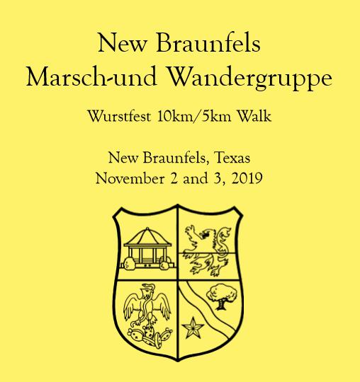 Wurstfest Walk in New Braunfels this Weekend