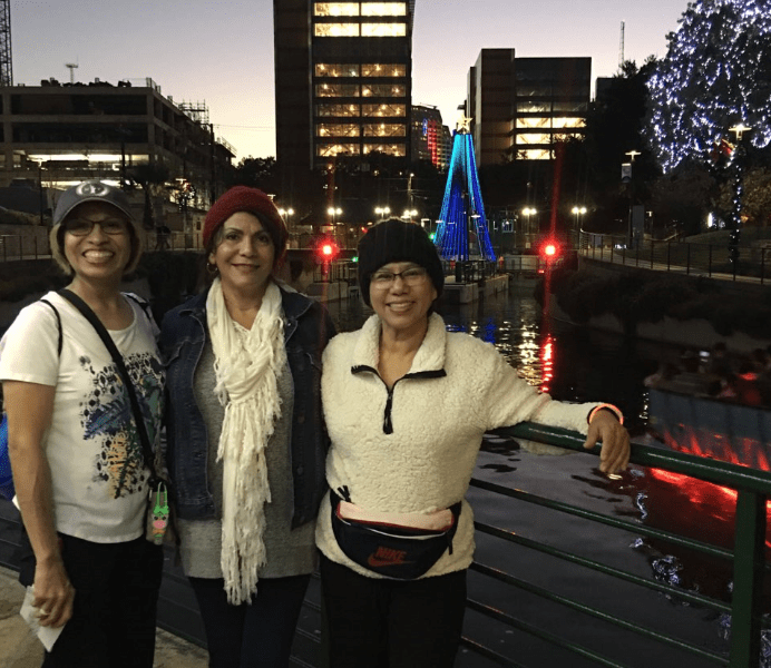 Photos from Christmas Lights walk in San Antonio