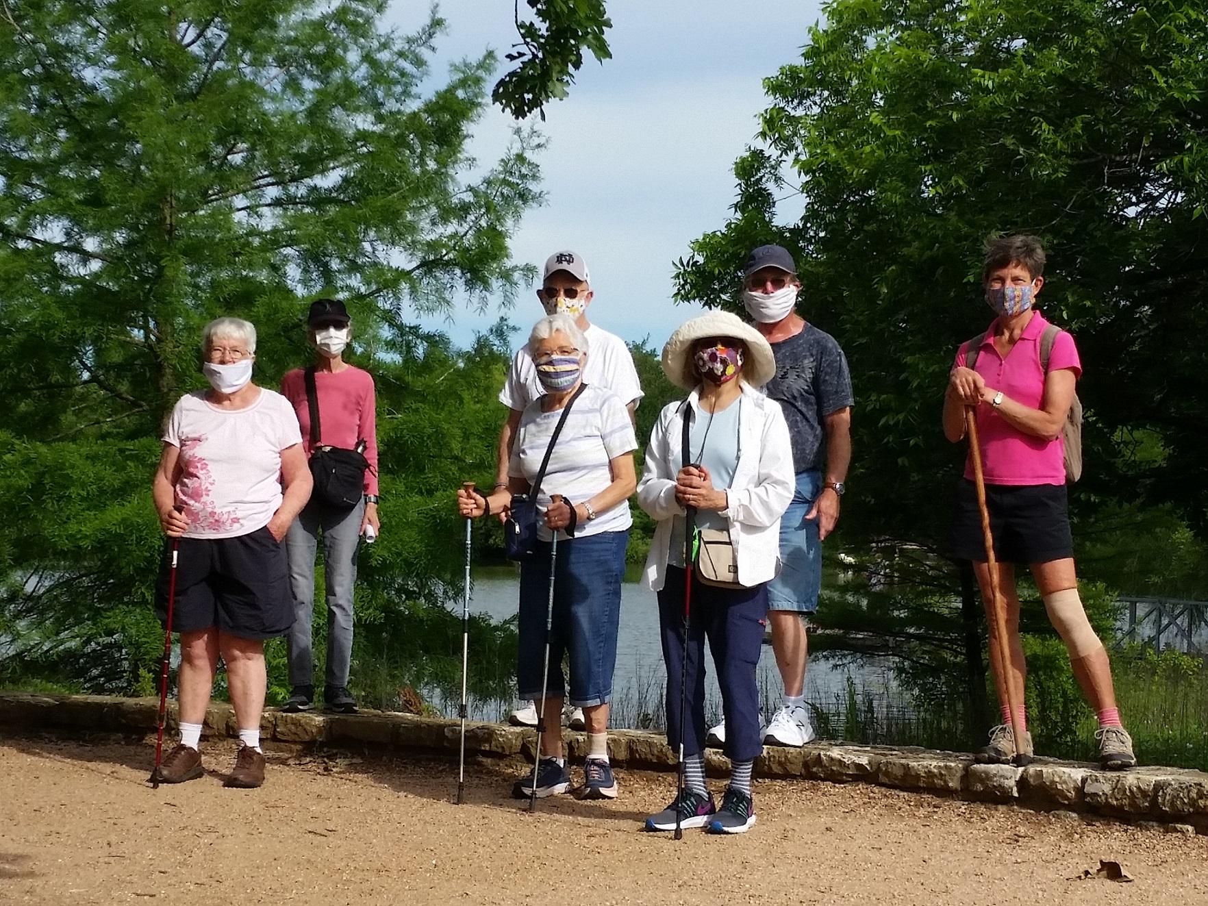 Katherine Fleischer Park Group Walk