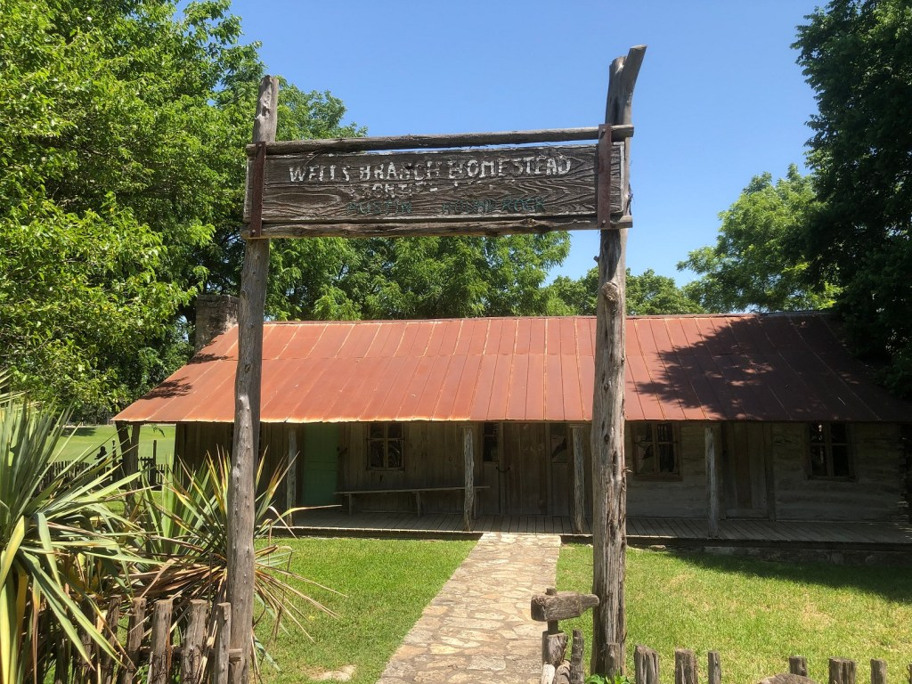 Historic Homestead in Katherine Fleischer Park in Austin