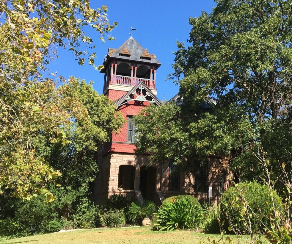 Historic mansion in Fairview Park neighborhood in Austin.
