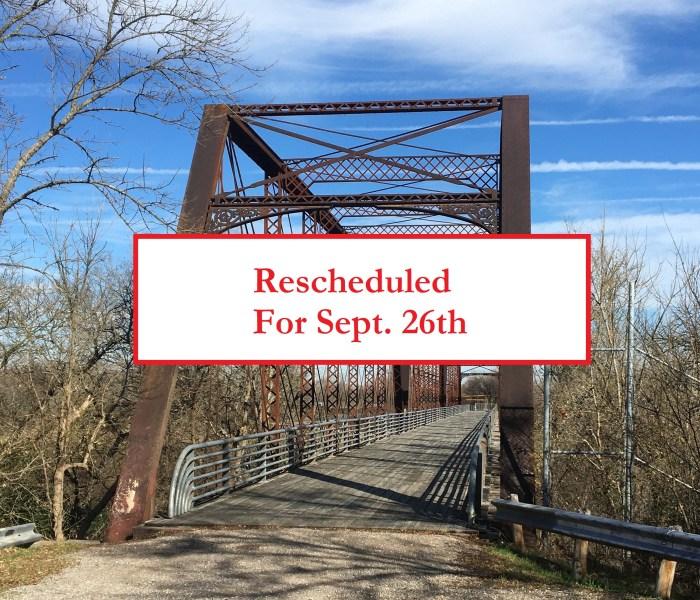 Richard Moya Park Walk Rescheduled for Sept 26th