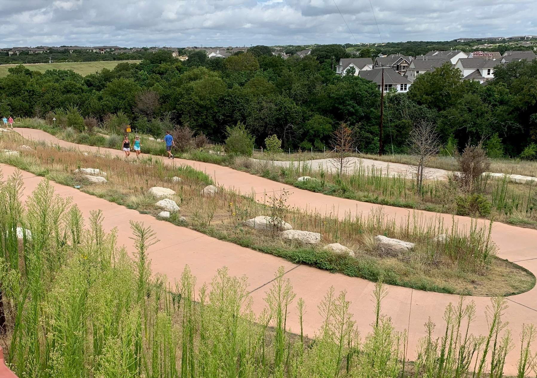 We're Walking Part of our Brushy Creek YRE on Aug 1