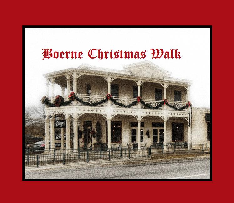 Boerne Christmas Walk on Dec 12th